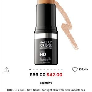 Makeup forever- professional ultra HD invisible